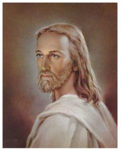 print head of Christ 8 x 10